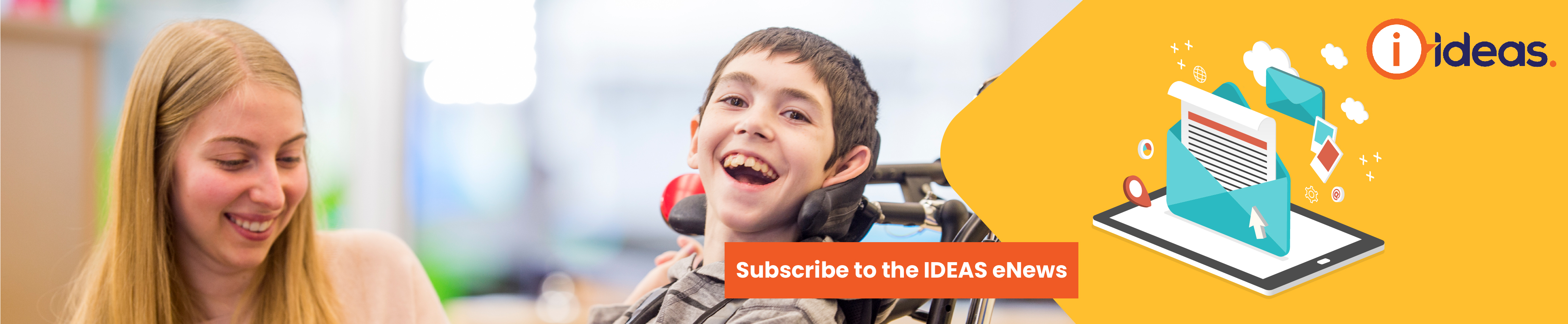 Subscribe to IDEAS eNews